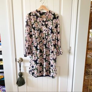 nwt j crew mercantile | tie front floral dress